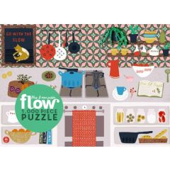 """Flow Puzzle """"Go with the slow"""""""