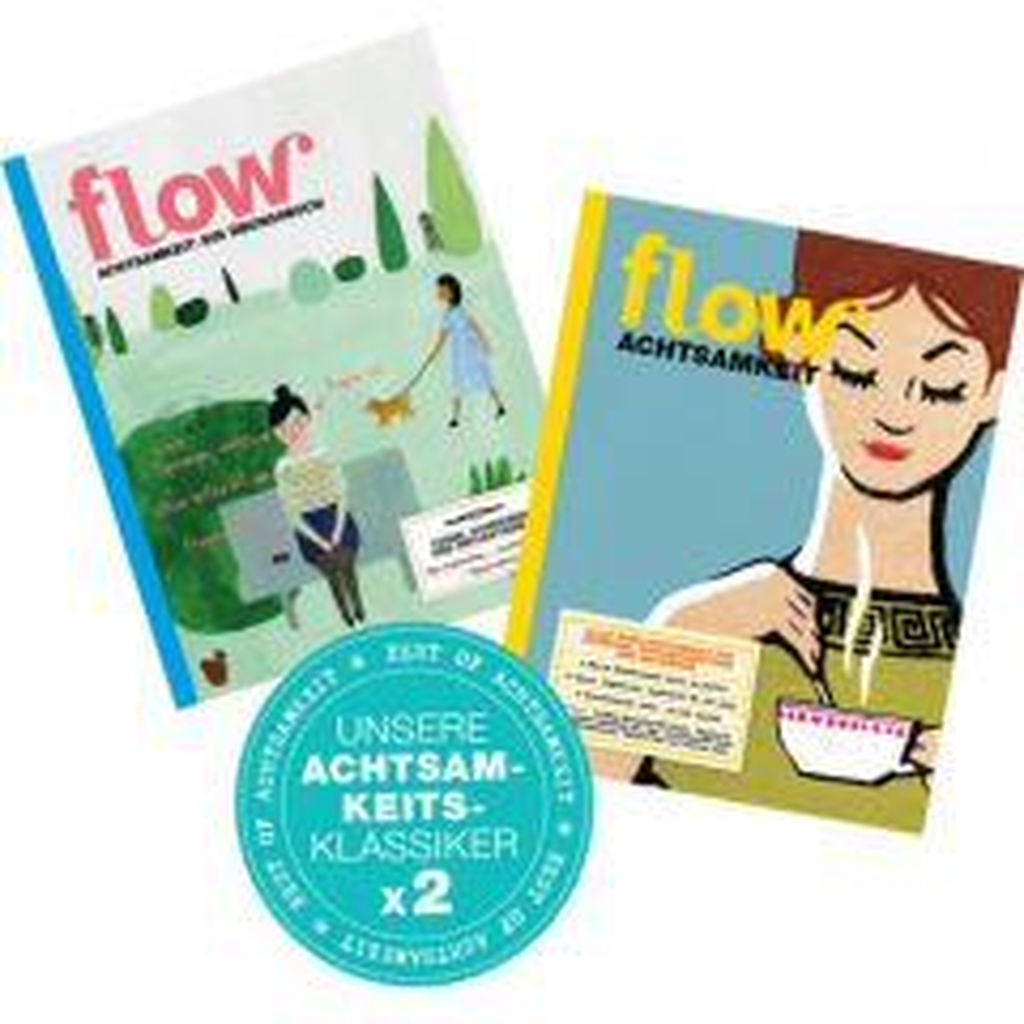 Flow - Package Achtsamkeit (Set aus 2 Achtsamkeitsklassikern)