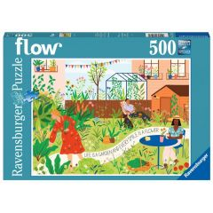 "Flow Puzzle ""Life is a Garden"" (500 Teile)"
